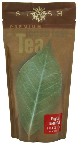 Stash Tea Company English Breakfast Loose Leaf Tea, 3.5 Ounce Pouches (Pack of 3)