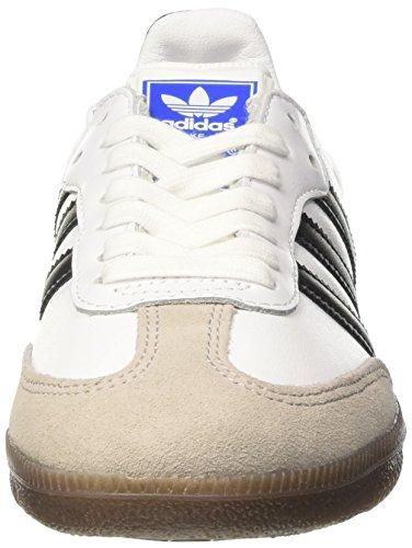adidas Samba Og, Zapatillas para Hombre Blanco (Footwear White / Core Black / Gum)