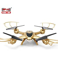 MJX X401H 2.4G 4CH 4 Channel RC Drone Quadcopter with HD Camera WIFI APP Real-Time Control Hold One Key Return Headless Helicopter RTF Gold