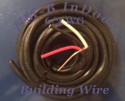 6-3 Wg Wire Nm-B ( 25 Feet ) Residential Building Wire