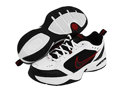 Nike Men's Air Monarch IV (4E) White/Black Training Shoe 10.5 4E Men US
