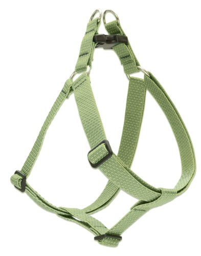 """LupinePet Eco 1"""" Moss 24-38"""" Step In Harness for Large Dogs"""