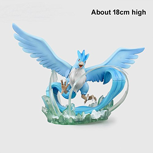 TONGROU Anime Articuno 18cm High PVC Figure Monster Moncolle Doll No Retail (Michael Jackson Werewolf Costume)