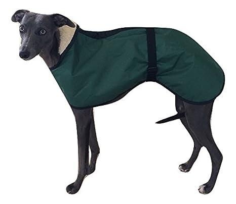 Capa impermeable para perro con forro de lana, de 4 colores, 5 tallas y