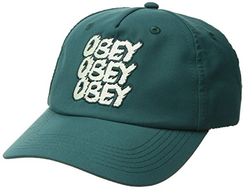 Obey Junior's Cara Unconstructed Baseball Cap, Spruce, O/S - Obey Women Hat