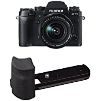 Fujifilm X-T1 16 MP Mirrorless Digital Camera with 3.0-Inch LCD and XF18-55mm F2.8-4.0 R LM OIS Lens w/ Large Grip (Old Model)