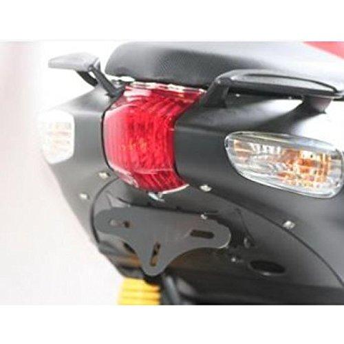 Halterung Platte R & G Racing schwarz Aprilia SR50 –  4450447 –  -Halterung Platte Wort R&G RACING