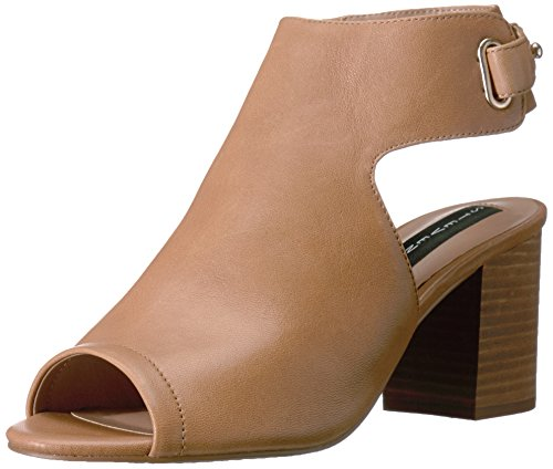 STEVEN by Steve Madden Women's Venuz Dress Sandal, Brown Leather, 8.5 M US