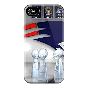 Awesome New England Patriots Flip Cases With Fashion Design For Iphone 6