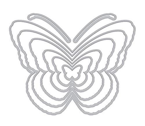 Hero Arts DI600 Nesting Butterflies Infinity Dies Steel Die Set