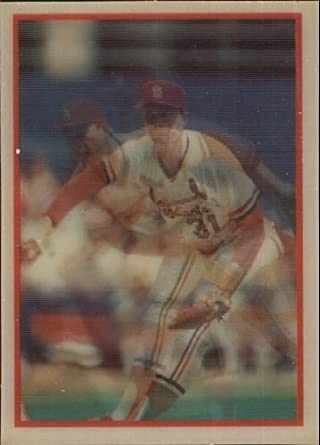 Amazoncom 1987 Sportflics Baseball Card 191 Bob Forsch Mint