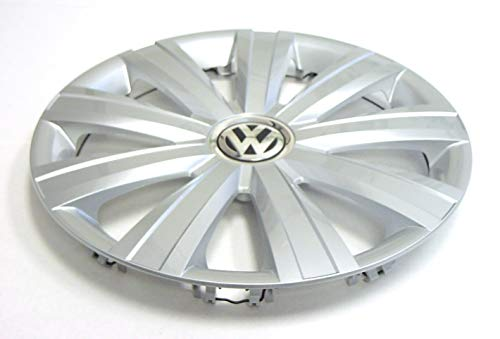 Genuine OEM VW Hub Cap Jetta-Sedan 2011-2014 9-Spoke Cover Fits 15-Inch Wheel by Volkswagen (Image #3)