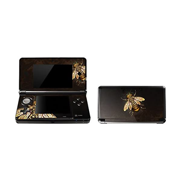 Skinit Decal Gaming Skin Compatible with 3DS (2011) - Originally Designed Steampunk Bee Design 3
