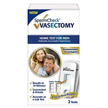 Amazon spermcheck vasectomy 2 test kit health personal care spermcheck vasectomy 2 test kit solutioingenieria Gallery