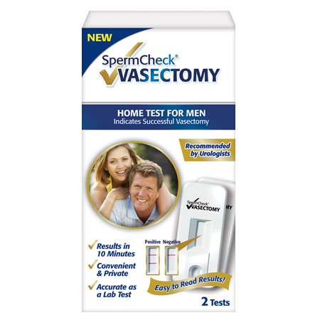 SpermCheck VASECTOMIE 2 Kit de Test