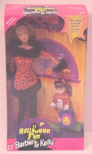 Target Special Edition Halloween Fun Barbie and Kelly -
