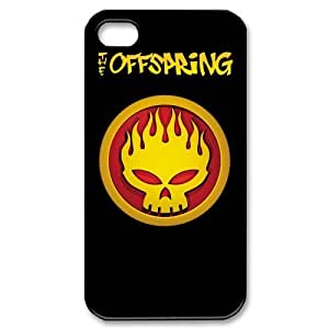 SUUER The Offspring Punk Rock Band Custom Hard CASE for iPhone 5 5s Durable Case Cover