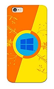 New CnDkMeP12462eeCuO Windows 8 Skin Case Cover Shatterproof Case For Iphone 6