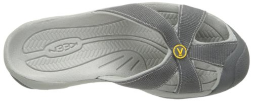 KEEN Women's Bali Sandal,  Magnet/Neutral Grey, 9 B - Medium