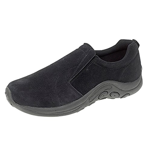 Mens PDQ Negro Suede Shoes
