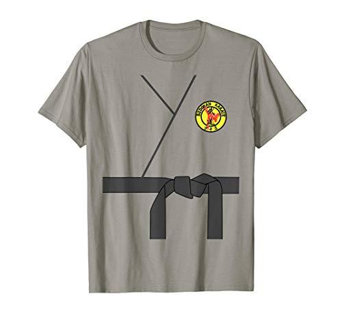 Black Belt Karate Halloween Costume T-shirt Karate Uniform