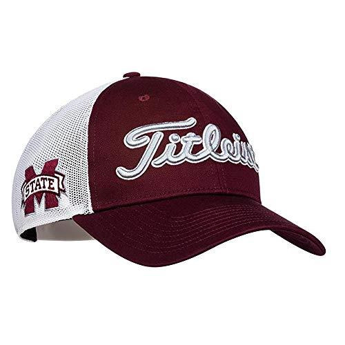 Titleist Collegiate Mesh Golf Cap 2017 Mississippi State Adjustable