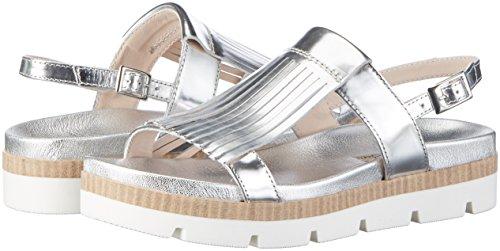 Chaussures Tosca Mimosa argento Blu Compensées Silber Femme BrrPqEnwx