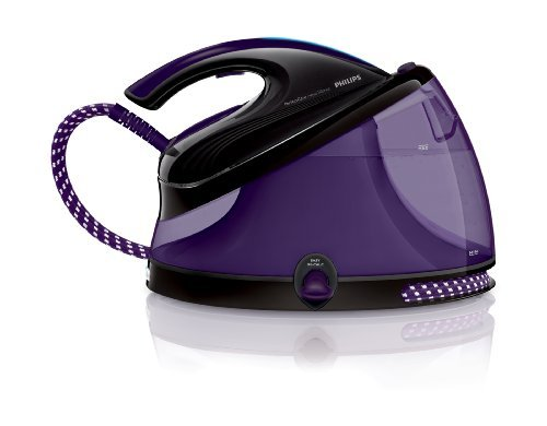 Philips GC8650 PerfectCare Aqua Silence Steam Generator Station Iron GC 8650 6.2 Bar Pressure 330 Grams Steam 220V by Philips