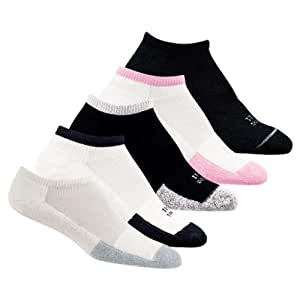 Thor-Lo T1CCU Women's Tennis Micro-Mini Socks - Black/Black - 1 pair (9)