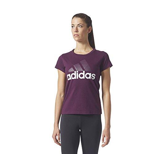 Rosso SLI Tee Li adidas Ess Donna Bianco Rojnoc Maglietta 7gEYqwBq