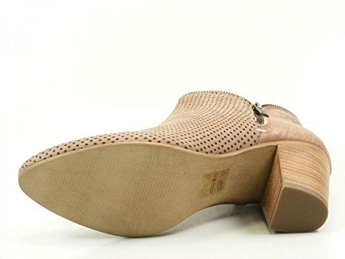 SPM 19226732 Romeo botas para mujer de cuero Rosa