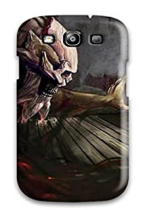 S3 Scratch-proof Protection Case Cover For Galaxy/ Hot Demon Attacking A Woman Phone Case