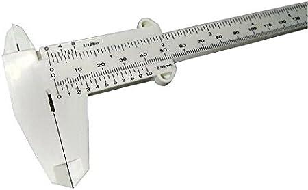 5pcs per lot 6Inch 150mm Plastic Ruler Sliding Gauge Vernier Caliper Jewelry Measuring TCP-150