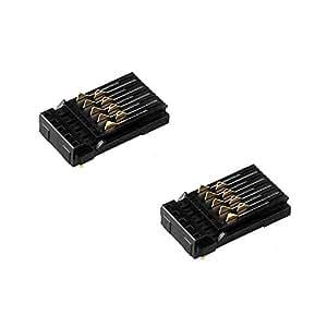 Amazon.com: Juego de 2 soportes para conector de cartucho de ...