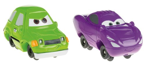 Fisher-Price GeoTrax Disney/Pixar Cars 2 Acer and Talking Holley Shiftwell (Cars Pixar Disney Geotrax)