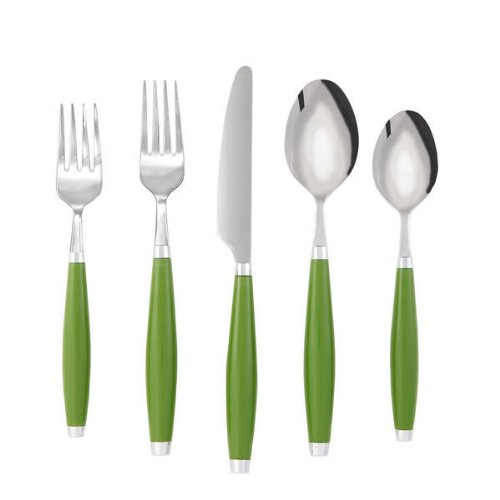 Fiesta Shamrock 5-Piece Flatware Set, Service for 1
