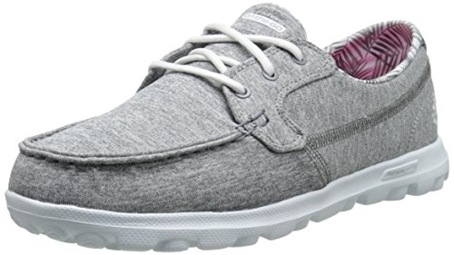 Women's On-The-Go Flagship Walking Shoe,Charcoal Heather,9.5 M US ()