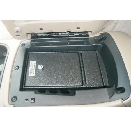 Console Vault GMC Yukon / Yukon XL - Floor Console 2003-2006 - 1003GMC - Massive 12 Gauge Cold Rolled Plate Steel, Welded Tab And Notch Seams - Superior 3 Point Locking System Resists Prying - Drill Resistant Locks - Easy 10 Minute Installation