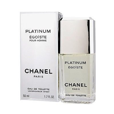PLATINUM EGOISTE POUR HOMME BY C H A N E L 1.7 oz 50 ml EAU DE TOILETTE SPRAY MEN NEW by Rare Perfume