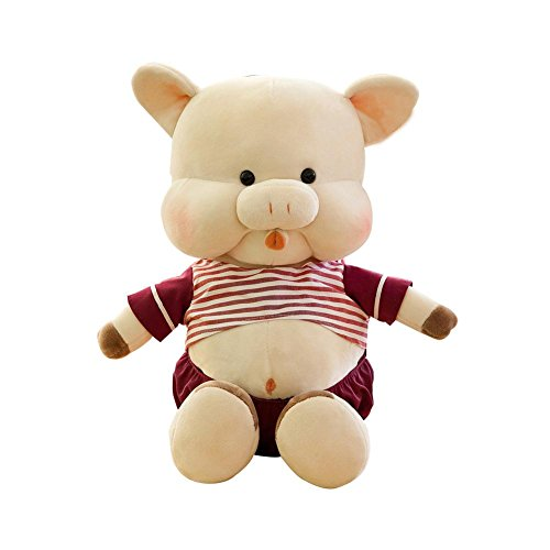 (Cute Cute Little Pig Snoring Whisper Plush Doll Baby Toy Birthday Gift)