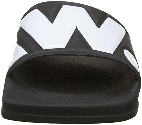 de Cart Descubierta Slide Punta Black Hombre STAR G White II 964 para RAW Negro Sandalias qwaYZ