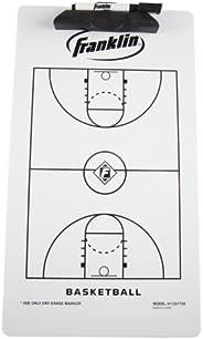 Franklin Sports Basketball Coach Clip Board, 15.75x9-Inch