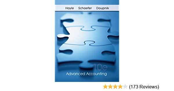 Advanced accounting joe ben hoyle 9780078136627 amazon books fandeluxe Image collections