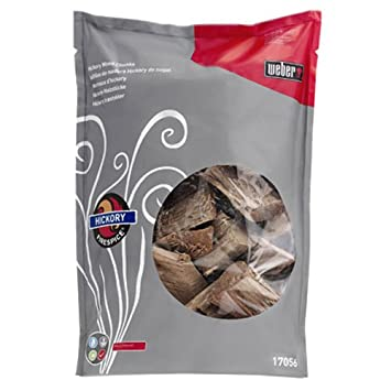 Amazon.com : Weber 17056 Hickory Wood Chunks, 5-Pound : Smoker ...