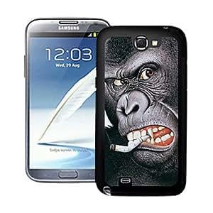 TY-Orangutanes patrón caso el efecto 3D para Samsung Galaxy Note N7100 2