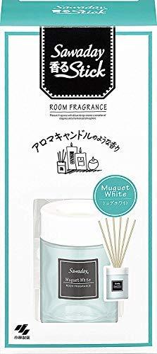 Sawaday香るStick アロマキャンドルミュゲホワイト 50ml × 21個セット B07T1JHP45