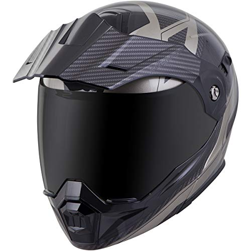 (Scorpion EXO-AT950 Tucson Adult Street Motorcycle Helmet - Titanium/Large)