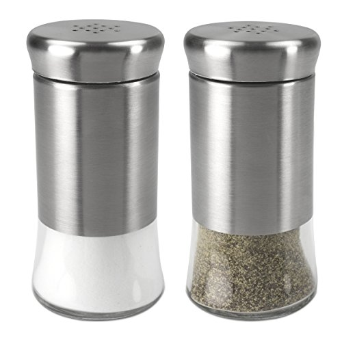 salt and pepper set silver - 8
