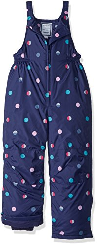 Gymboree Girls' Toddler' Snow Overalls, Blue, 2T