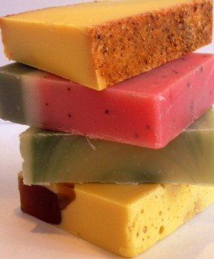 Sudsy Summer Soap 4-pack (Shredded Soap)